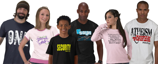 Christian t-shirts and gifts for all ages
